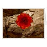 Stone Rose greeting card