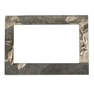 Stone Rose Magnetic Frame