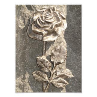 Stone Rose Photo Print