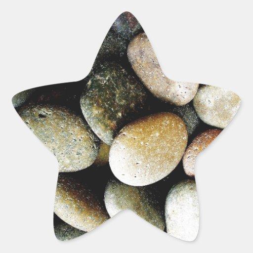 Stone Rustic Rigid Tough Wall Art Fashion Nature G Star Sticker