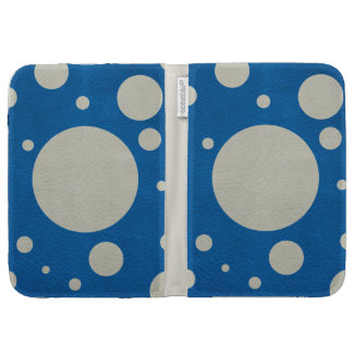 Stone Scattered Spots on Lapis Leather Texture Kindle Cover