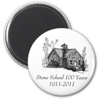Stone School 100 Years Magnet