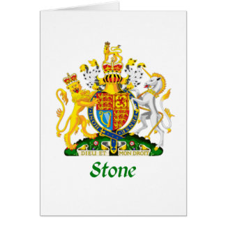 Stone Shield of Great Britain Card