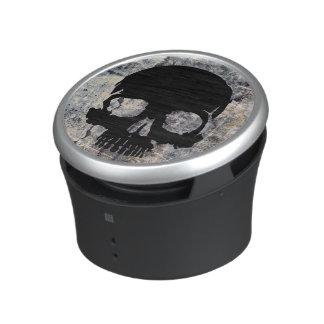 Stone skull speaker