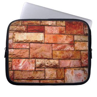 Stone slabs coated wall 2 computer sleeve