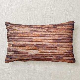 Stone slabs coated wall lumbar pillow