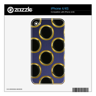 Stone Slate Gold Colors Multi products selected Decal For The iPhone 4S