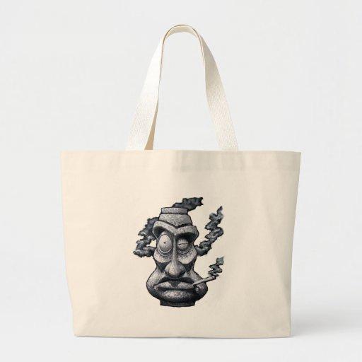 Stone Smoker Tiki Man Bag