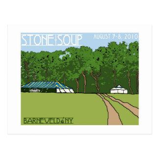 Stone Soup Postcard  - Horizontal
