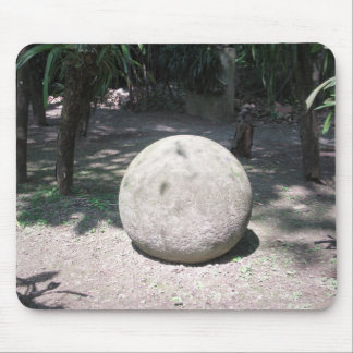 Stone Sphere Mouse Pad