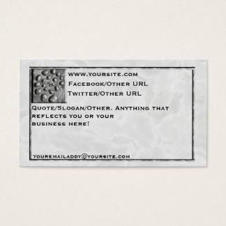 Stone Spiral Business Card