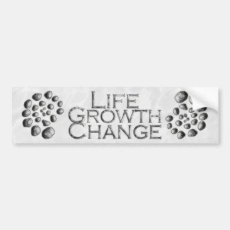 Stone Spiral Life Growth Change Bumper Sticker
