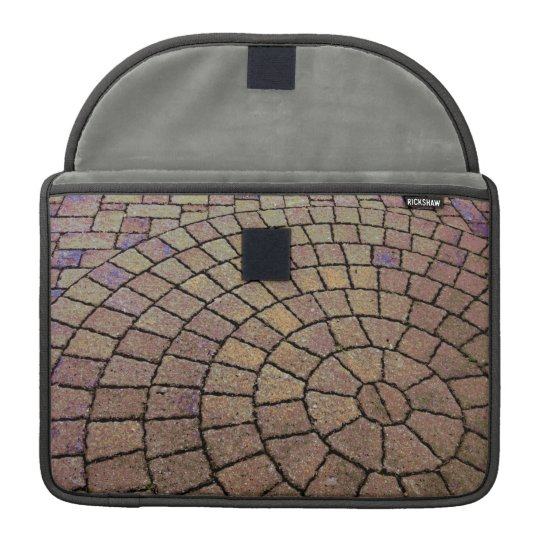 Stone Spiral MacBook Sleeve