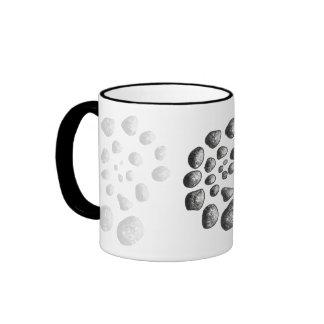 Stone Spiral Ringer Coffee Mug