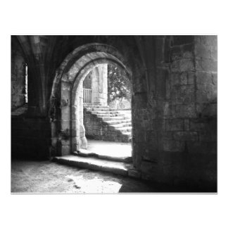 stone-stairs-in-fountains-abbey personalized announcement