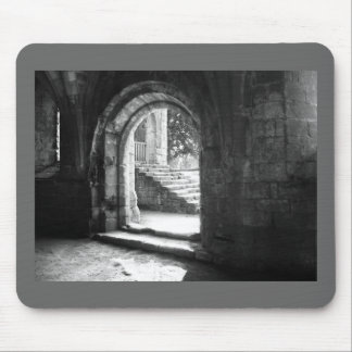 stone-stairs-in-fountains-abbey mouse pad