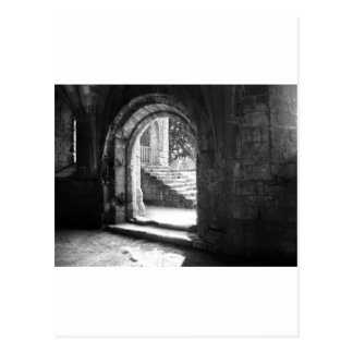stone-stairs-in-fountains-abbey postcards