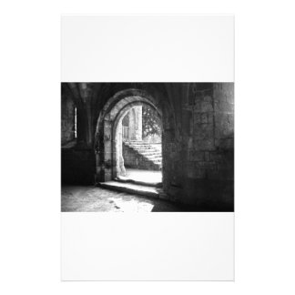 stone-stairs-in-fountains-abbey customized stationery
