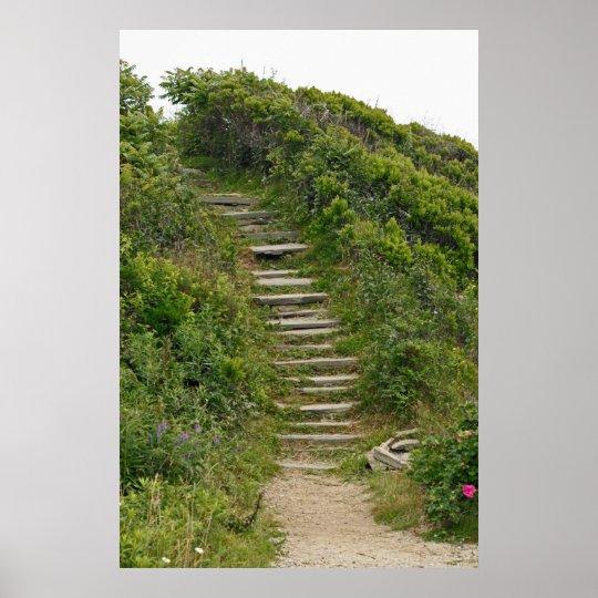 Stone Stairs Print