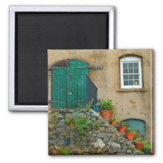 Stone Steps 2 Inch Square Magnet