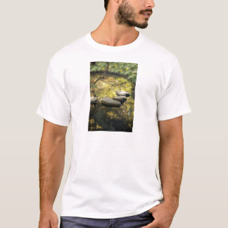 Stone Steps Across A Pond T-Shirt
