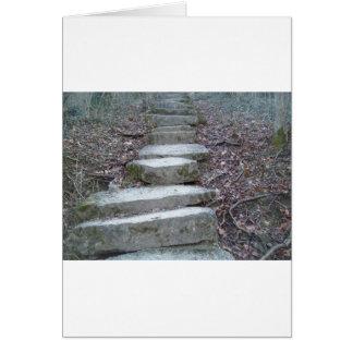 Stone Steps at Sugarcreek Card