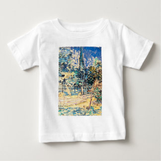 Stone Steps in the Garden of St Paul's Hospital Baby T-Shirt