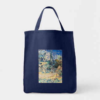 Stone Steps in the Garden of St Paul's Hospital Tote Bag