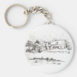 Stone Store, Kemp House and Caretakers Home Keychain