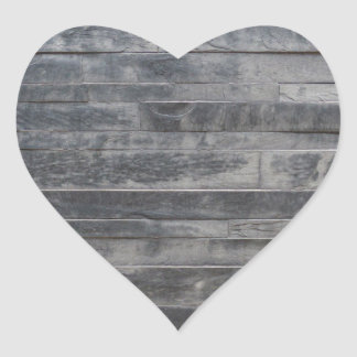 Stone structure heart sticker