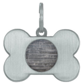Stone structure pet name tag