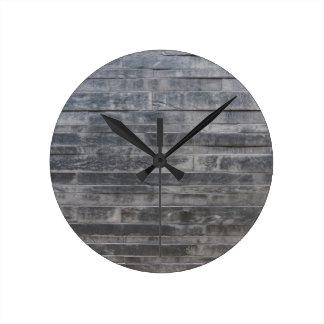 Stone structure round clock