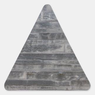 Stone structure triangle sticker