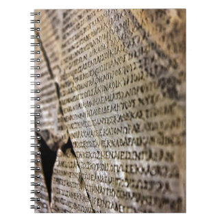 Stone Tablet Spiral Notebook