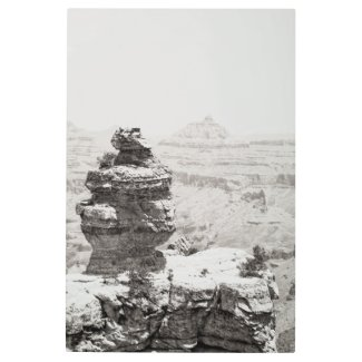 Stone Temples Metal Print