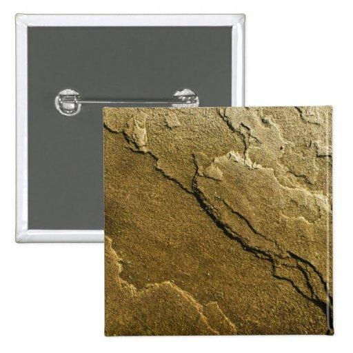 Stone Texture 2 Inch Square Button