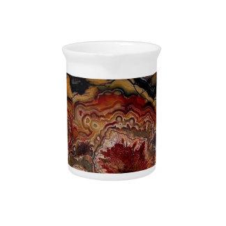 stone texture beverage pitcher