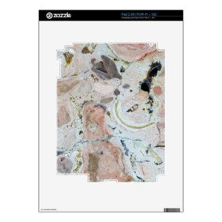 Stone texture: Carbonate Rock iPad 2 Decal