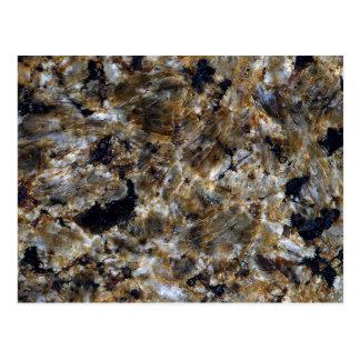 Stone Texture: Green Granite Postcard