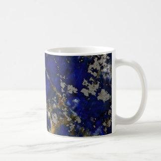 Stone texture: Lapis lazuli Coffee Mug