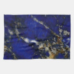 Stone texture: Lapis lazuli Hand Towel