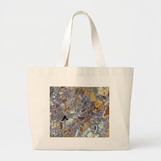 Stone texture: Laterite Large Tote Bag