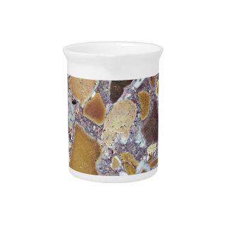 Stone texture: Laterite Beverage Pitcher