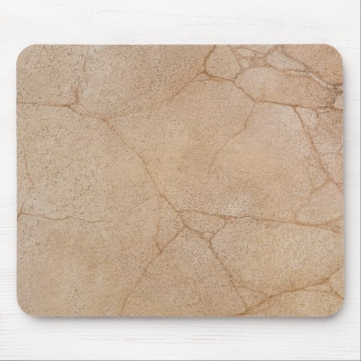 stone texture with cracks mouse pad