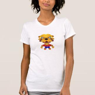 Stone the Lion Dog Women's AAFJ Short Sleeve, Wh Tshirt