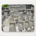 Stone Tomb Statues Mousepad