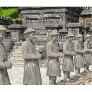 Stone Tomb Statues Photo Cutouts