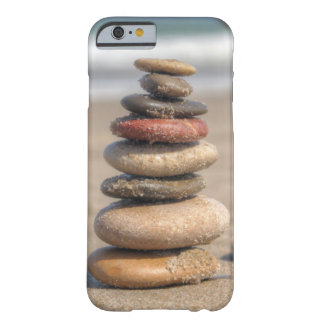 Stone Tower On Beach Barely There iPhone 6 Case