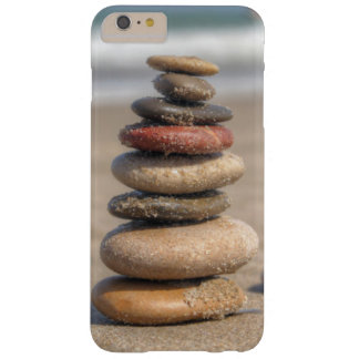 Stone Tower On Beach Barely There iPhone 6 Plus Case