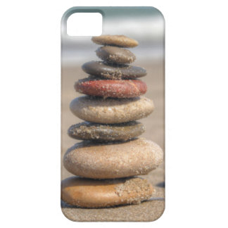 Stone Tower On Beach iPhone SE/5/5s Case
